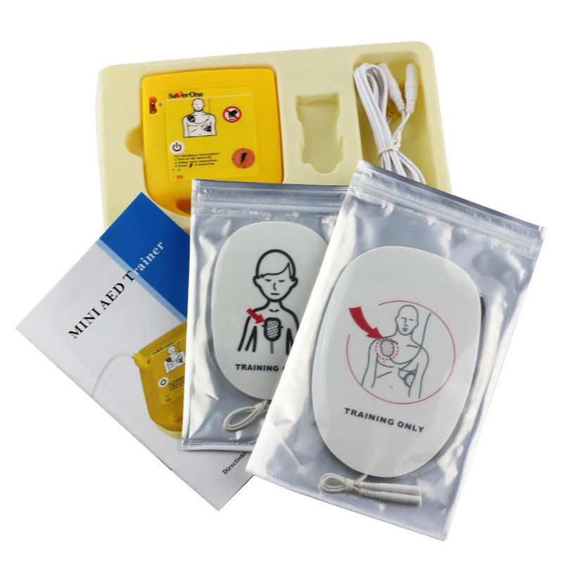 Class II Aed Portable Defibrillator , Aed Training Device For CPR Training