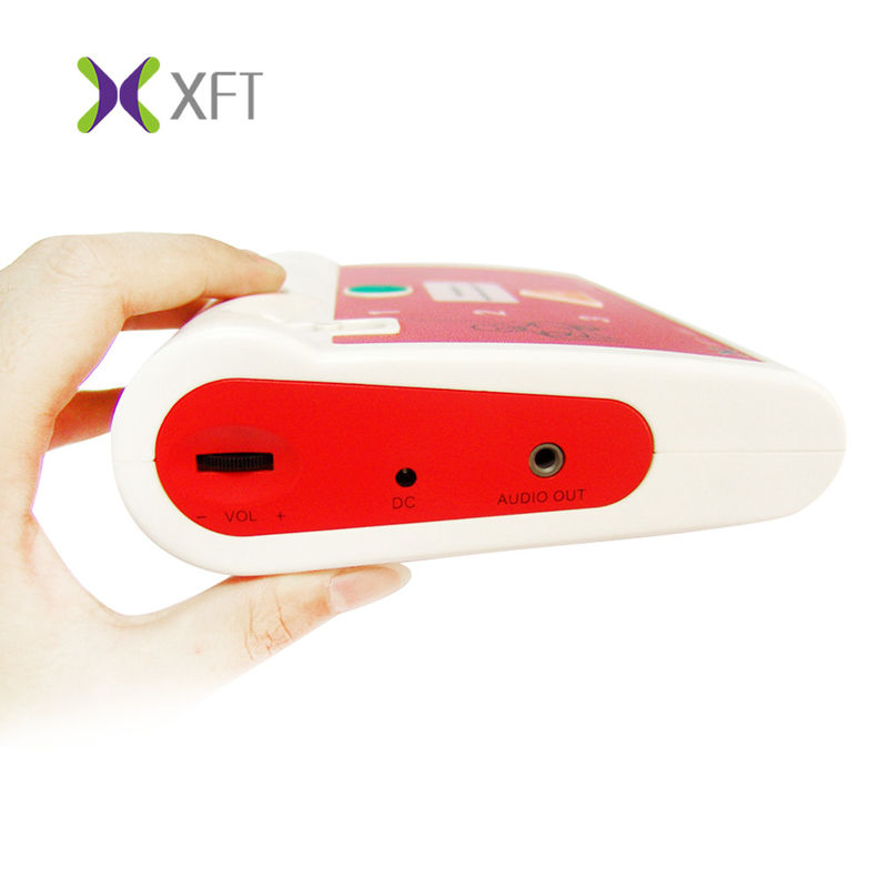 Multi Languages Portable AED Emergency Defibrillator Trainer XFT-120C+ 190*150*46MM